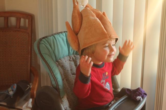 Love this lil' turkey