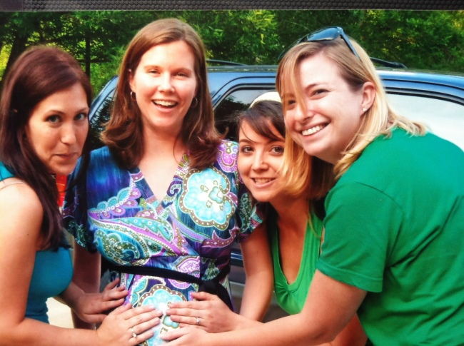 Pregnant with J  2011